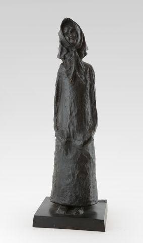 WINANT, Alice (1928-1989) Femme au foulard...