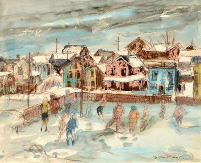 MASSON, Henri Léopold (1907-1996) Enfants...