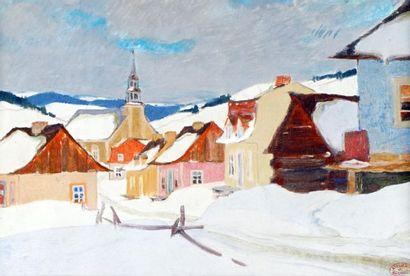GAGNON, Clarence Alphonse (1881-1942) Village...