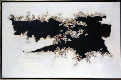 TOUPIN, Fernand (1930-2009) Sans titre Acrylique sur toile Signée et datée en bas...