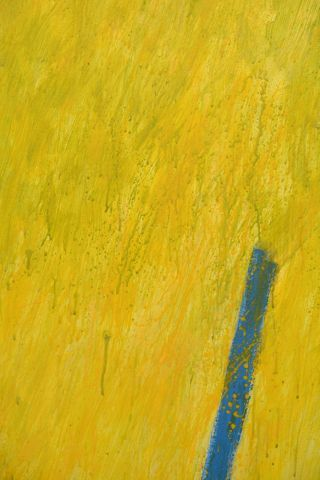"""WOLFE, Robert (1935-2003) """"Cabillione"""" Acrylique sur toile Signée et datée en bas..."""
