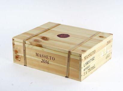 Masseto 2016  Toscana I.G.T.  Niveau A  3...