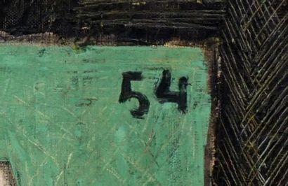 VANSIER, Boris (1928-)  Nature morte  Huile sur toile  Signée en haut à gauche:...