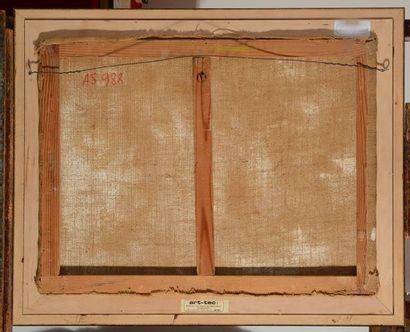 MARCHOU, Georges (1898-1984)  Nature morte  Huile sur toile  Signée en bas à droite:...