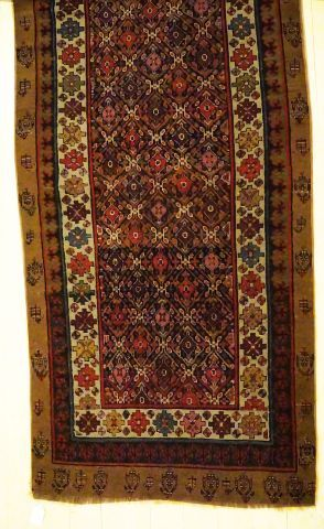 Tapis persan Sarab, laine sur cotton.  Début...