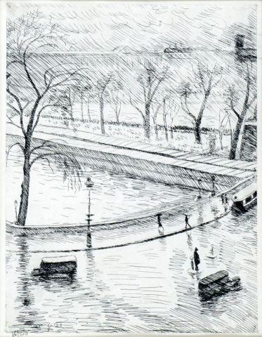 MARQUET, Albert (1875-1947)  Les quais de...