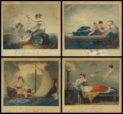 D'après Jean-Baptiste MALLET (1759-1835)...