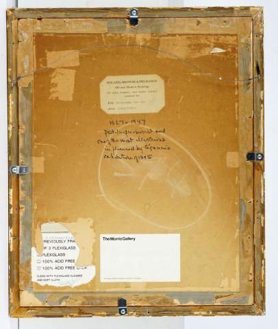"""BONNARD, Pierre (1867-1947)  """"Seated nude, back view""""  Mine de plomb sur papier..."""
