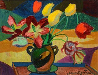 MARCHOU, Georges (1898-1984)  Nature morte...