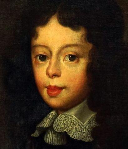 ÉCOLE EUROPÉENNE XIXe  Portrait d'un jeune noble  Huile sur toile    Provenance;...