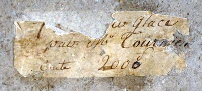 Attribué à Jean Ulrich TOURNIER (1802-1882)  Nature morte  Huile  Sur une étiquette...