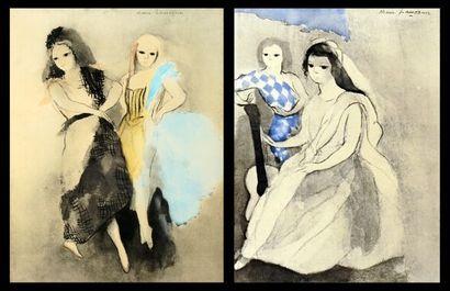 LAURENCIN, Marie (1883-1956)  Sans titre-femmes...