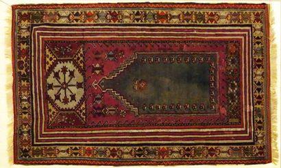 Tapis de Turquie Kirsehir, laine sur laine....