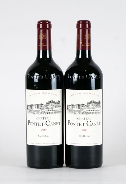 Château Pontet-Canet 2010  Pauillac Appellation...