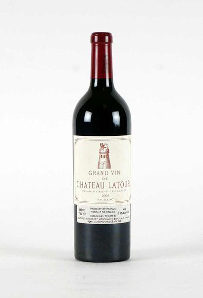 Château Latour 2003  Pauillac Appellation...