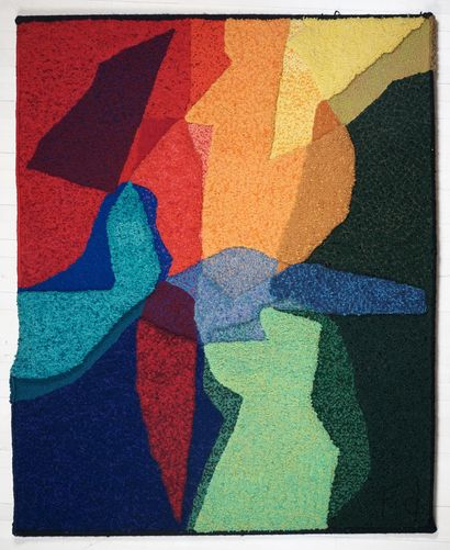 DAUDELIN, Fernand (1933-)  Untitled, c.1960/1965  Tapestry    Provenance:  Collection...