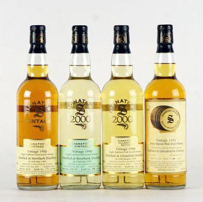 Mortlach 1988 Signatory Vintage Scotch Whisky...