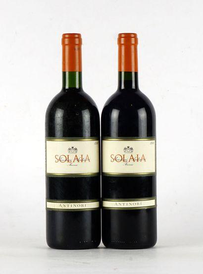 Solaia 1990  Toscana I.G.T.  Niveau A - Niveau...