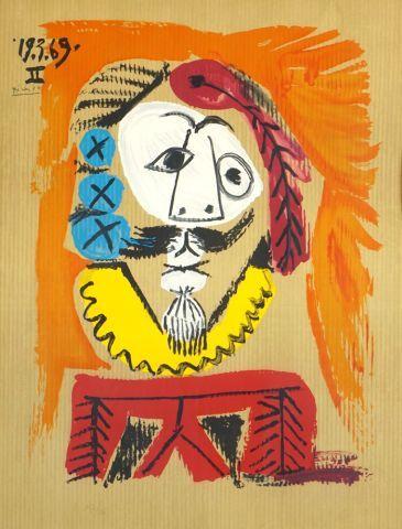 D'après Pablo PICASSO (1881-1973)  Sans titre...