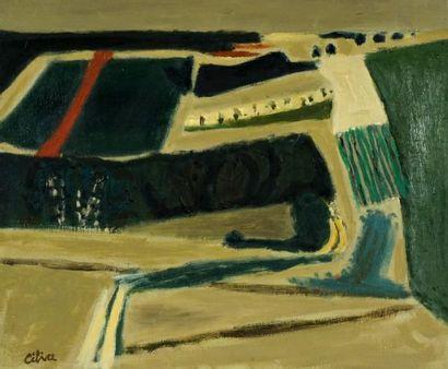 CÉLICE, Pierre (1932-2019)  Paysage  Acrylique...