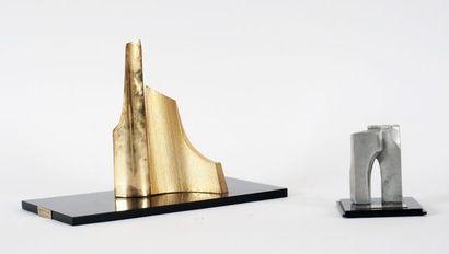 TRUDEAU, Yves (1930-2017)  Sans titre  Bronze...