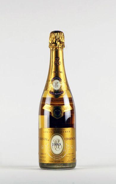 Louis Roederer Cristal 1989  Champagne Appellation...