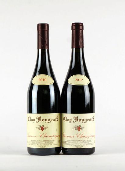 Clos Rougeard 2010  Saumur Champigny Appellation...