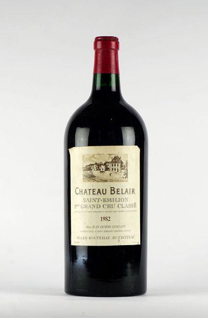 Château Bélair 1982  Saint-Émilion 1er Grand...