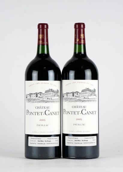 Château Pontet-Canet 2005  Pauillac Appellation...