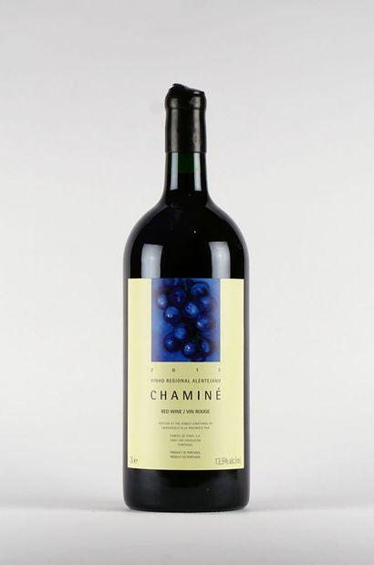 Chaminé 2012  Vinho Regional Alentejano  Niveau A  1 bouteille de 3L