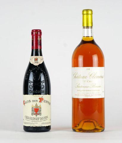 Château Climens 1985  Sauternes-Barsac Appellation...