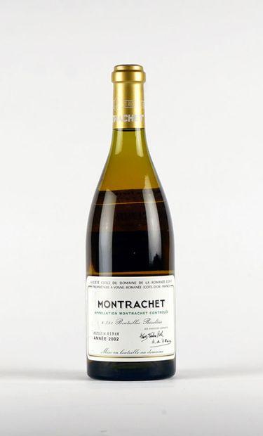 Montrachet 2002  Montrachet Appellation Contrôlée...