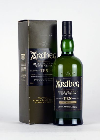 Ardbeg The Ultimate 10 Years Old Single Malt...