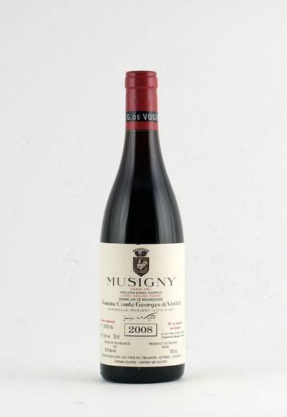 Musigny Grand Cru Cuvée Vieilles Vignes 2008...