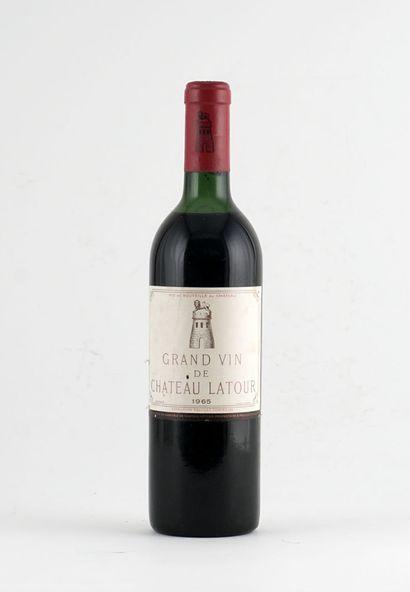 Château Latour 1965  Pauillac Appellation...