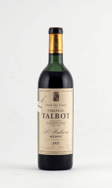 Château Talbot 1957  Saint-Julien Appellation...