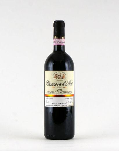 Tenuta Nuova Casanova di Neri 2001  Brunello...