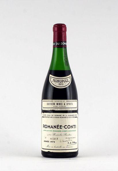 Romanée-Conti 1973  Romanée-Conti Appellation...