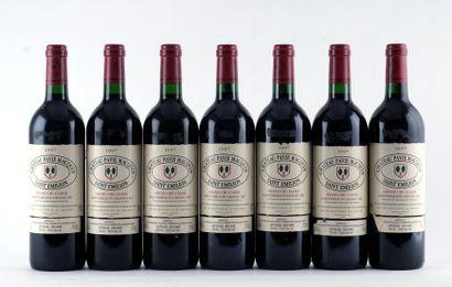 Château Pavie Macquin 1997 - 7 bouteille...