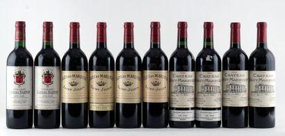 Sélection de Vins de Bordeaux - 10 boute...
