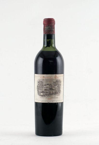 Château Lafite Rothschild 1952 - 1 boute...