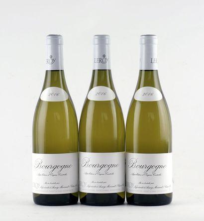 Bourgogne (blanc) 2016, Leroy - 1 boutei...