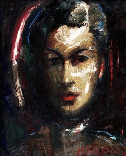TIDEMANIS Janis Ferdinands (1897-1964)  Portrait...
