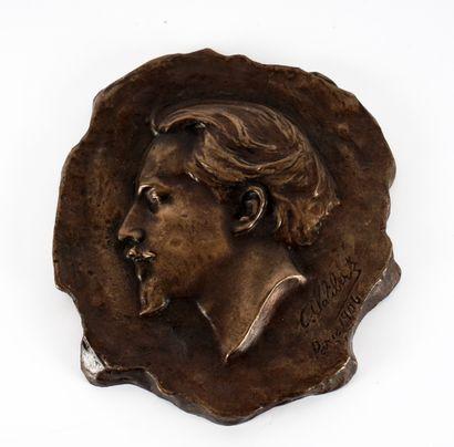 LALIBERTÉ, Alfred (1878-1953)  Portrait de...