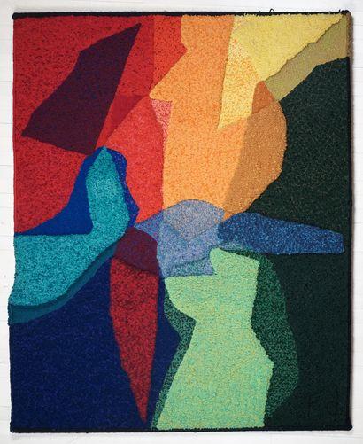 DAUDELIN, Fernand (1933-)  Sans titre, c.1960/1965...