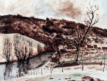 DUNOYER DE SEGONZAC, André Albert Marie (1884-1974)...