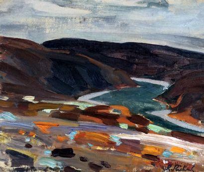 RICHARD, René Jean (1895-1982)  Baie, Charlevoix...