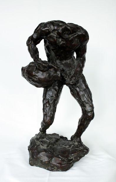 BOURDELLE, Émile Antoine (1861-1929)  Homme...