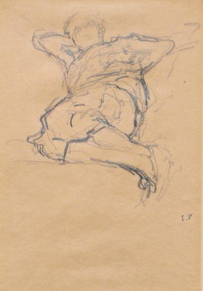 VUILLARD, Édouard (1868-1940)  Personnage...