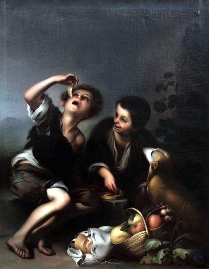 ÉCOLE CANADIENNE XIXe  D'Après Bartolomé...